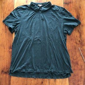 James Perse Supima Cotton Polo Shirt